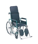 SHC AKE Detachable Armrest & Footrest Folding Wheelchair 0110