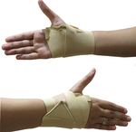 ACCO Free Size Wrist Support Brace Type With Thumb AMP-03REWF01