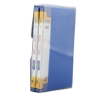 Solo BC 804 Business Cards Holder - 2x120 Cards (In A Case)-Blue