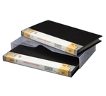 Solo BC 805 Business Cards Holder - 1x240 Cards (In A Case)-Black