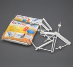 Solo RC 123 Roto Clip (Pack Of 5 Pcs) - White
