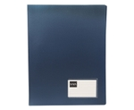 Saya SY-CF801 Metallic-Blue A4 Size Conference Display File With Pad