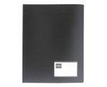 Saya SY-CF801 MetallicBlack A4 Size Conference Display File With Pad