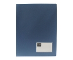 Saya SY-CF803 Metallic-Blue A4 Size Conference Display File With Clip