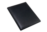 Massi Miliano FF02_BLK A4 Size Genuine Leather Folder