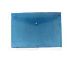 Saya SY-219A3 A3 Size Transparent Blue Clear Bag Plain Extra Large Pack Of 10