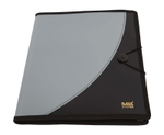 Saya SY-808 A4 Size Metallic Black Executive Portfolio Pack Of 1