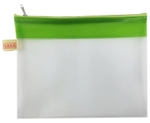 Saya SY-2205 A5 Size Green My Zip Bag Pack Of 1