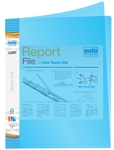 Solo RF 101 Report File A4 - Super Line Transparent Blue