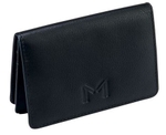 Massi Miliano Black VCH01_BLK Visiting Card Holder