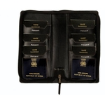 Sukesh Craft Black Tree Passport Holder