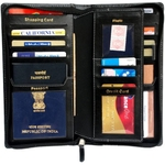 Sukesh Craft Definition-BLK Travel Document Holder (Black)