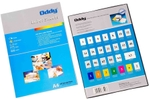 Oddy STFL-A4100-Mango Florescent Label Sheet Available In Mango Color For Laser, Inkjet & Copiers (1