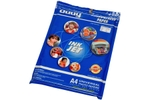 Oddy A4 Size Self Adhesive Coated Glossy Paper - 130 GSM