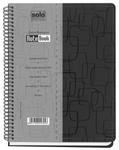 Solo NB 506 Premium Note Book (160 Pages Square) B5 - Black
