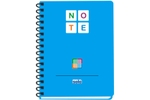 Solo NA 578 Note Book (140 Pages) 3 Color A5 - Frosted Blue