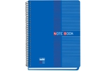 Solo NB 552 Note Book (100 Pages) 2 Colour Printing B5 - Blue