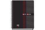 Solo NB 552 Note Book (100 Pages) 2 Colour Printing B5 - Black