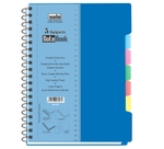 Solo 5-Subjects Note Book (300 Pages) Blue Model No NA 457