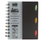 Solo 3-Subjects Note Book (240 Pages) Black Model No NA 633