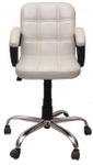 VJ Interio Visitor Chair White 19 X 19 X 39 Inch VJ-129-VISITOR-LB