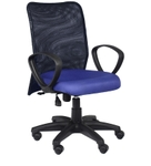 Divano Blue And Black Color Modular Office Chair DM 96