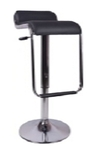 VJ Interio Caballo Metal Bar Stool Black 13 X 14 X 26 To 33 Inch VJ-0039