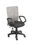 Swift Net Chair Black And Silver Color SM 511