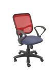 Swift Net Chair Red And Black Color SM 518