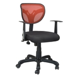 Swift Net Chair Red And Black Color SM 526