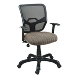 Swift Net Chair Black And Brown Color SM 529