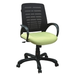 Swift Net Chair Black And Green Color SM 531