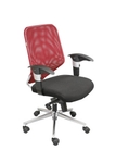 Swift Net Chair Red And Black Color SM 504