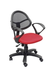Swift Net Chair Red And Black Color SM 508