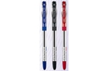 Cello Techno Tip Ball Pen Red Pack Of 20