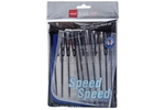 Cello Speed Ball Pen Black Pack Of 10