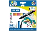 Milan 80023 Magic Magic Fibre Pen Pack Of 8