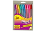 SAKURA XPGB-G Assorted Gelly Roll Glaze Gel Pen Pack Of 10