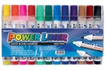 Mungyo White Board Marker Assorted Colour Set Of 12 Pcs MA-12A