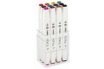 Shinhan Brush Marker Assorted Colour Set Of 12 Pcs TMB-12M
