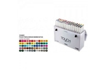 Shinhan Brush Marker Assorted Colour Set Of 60 Pcs TMB-60B