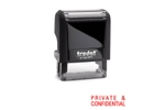 Trodat S-Printy Private & Confidential Stamps
