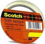 3M Scotch 1 Inch Core Width 12 Mm Transparent Tape