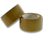 Asian 24 Mm Tan Tape Pack Of 12 Rolls