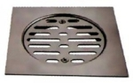 Jayna New Heavy Gratings 140 X 140 Mm Glossy Floor Drain - NHG 140