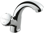 Hindware Plus Swan Neck Tap With Left Hand Operating Knob - Contessa