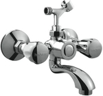 Hindware Contessa Plus Wall Mixer With Hand Shower Arrangement - F330018