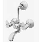 Kerro Wall Mixture With Bend Faucet (Material Brass, Finishing Chrome) - AP 10