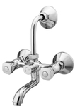 Kerro Wall Mixture With Bend Faucet (Material Brass, Finishing Chrome) - RI 10