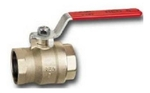 Cimberio 15 Mm Brass Ball Valve CIM RED 5